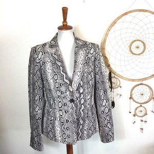Michael Kors snake print jacket